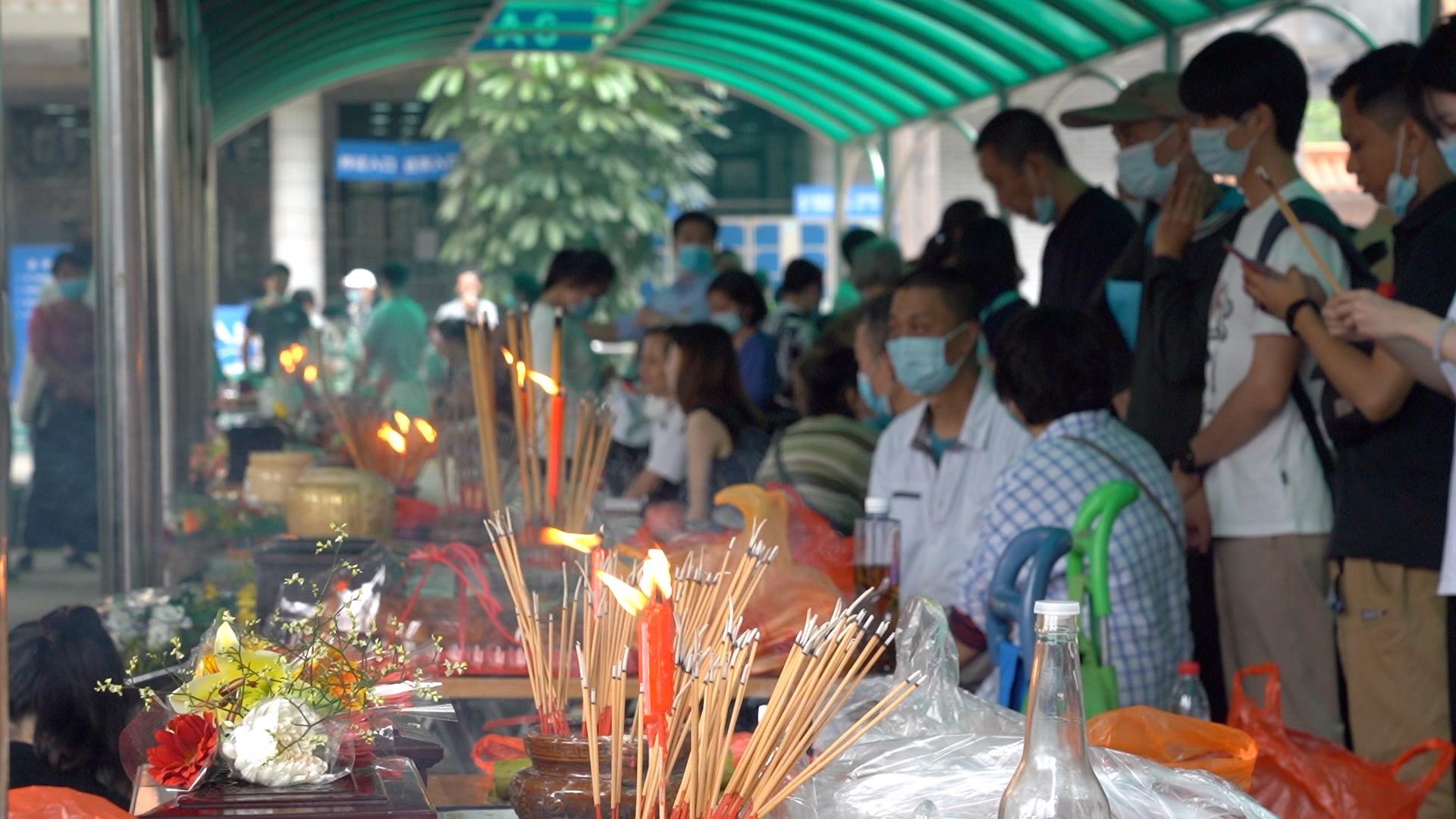 【网络中国节清明】广州在本周末迎来清明祭扫小高峰,120多万市民已成功预约
