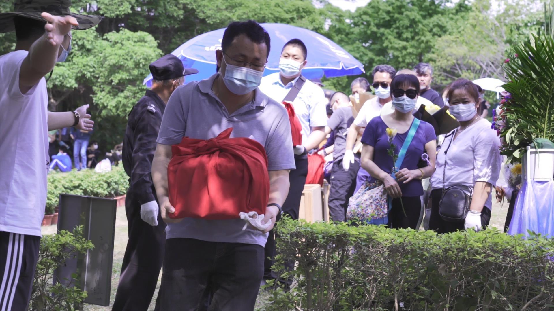 【网络中国节清明】深圳市举行清明生态葬,230位逝者骨灰魂归海洋大地