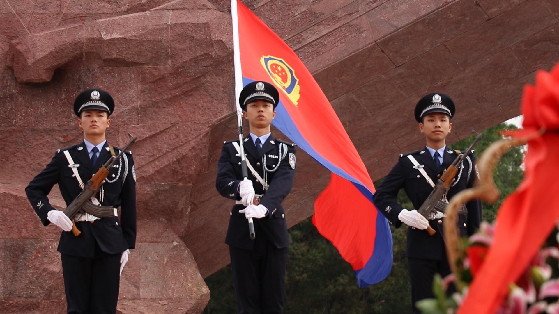 广东省公安厅清明缅怀英烈,去年以来共58名民警辅警牺牲
