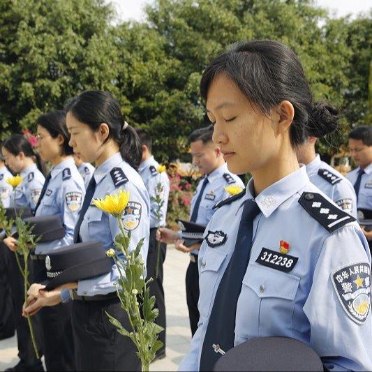 清明:中山边检民警祭奠英烈,表示敬意,寄托哀思