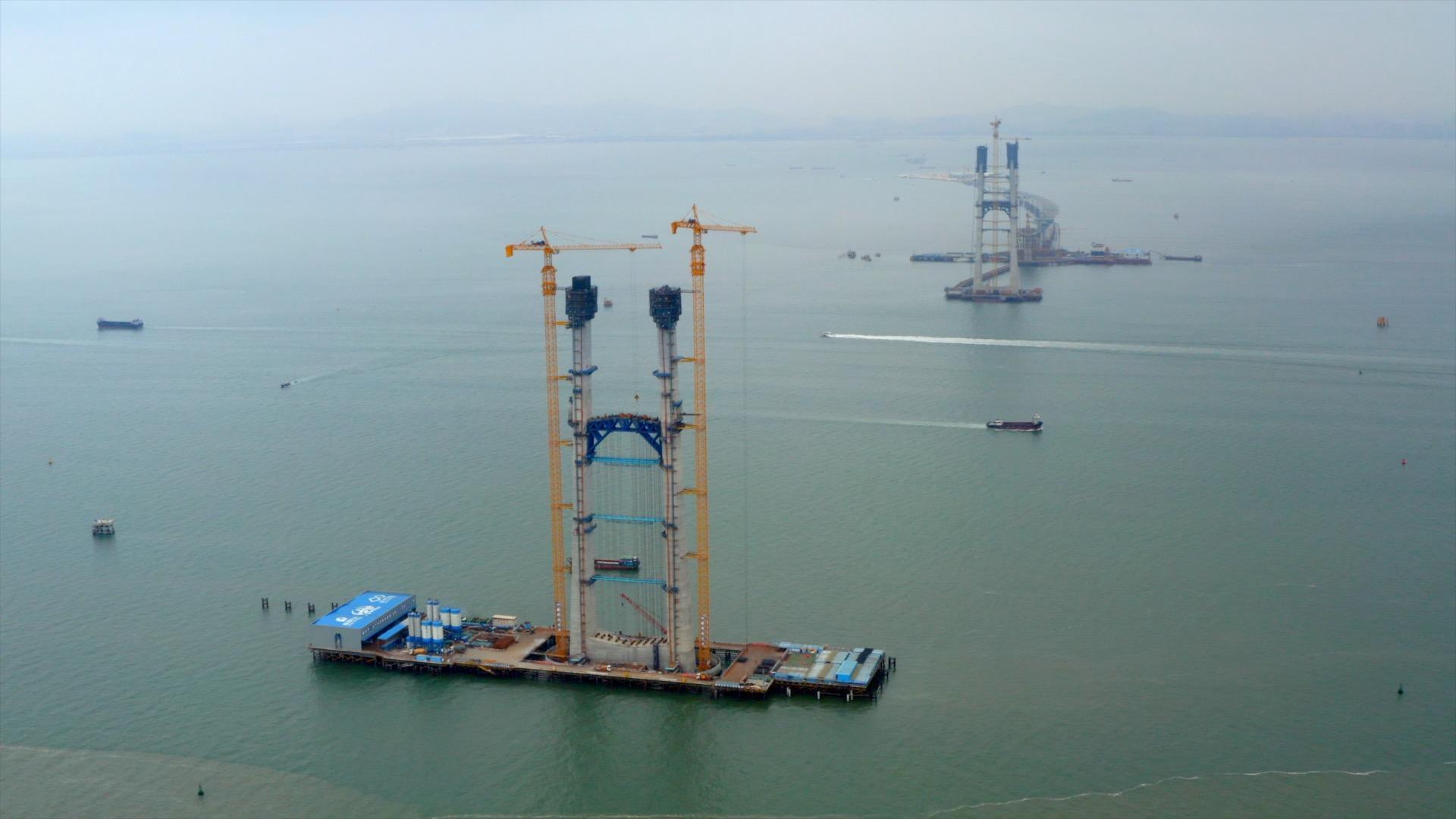 沿着高速看中国(广东):走进超级工程深中通道,感受大湾区速度